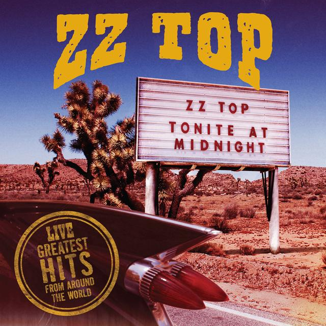 ZZ Top LIVE: GREATEST HITS FROM AROUND THE WORLD Vinyl Record