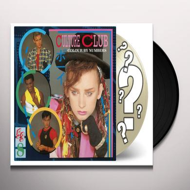 Culture Club COLOUR BY NUMBERS Vinyl Record - Holland Import