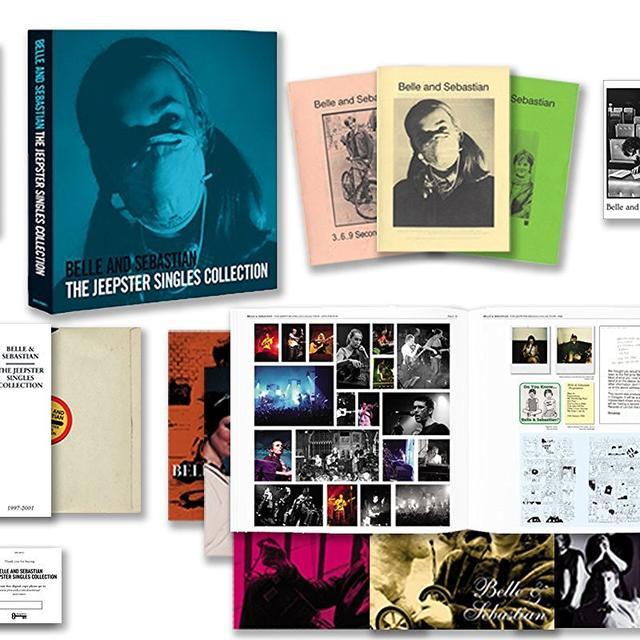 Belle & Sebastian JEEPSTER SINGLES COLLECTION Vinyl Record - UK Import