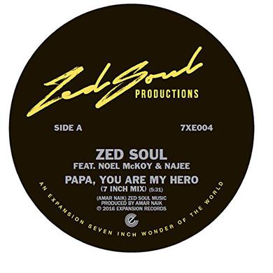 Zed Soul / Noel Mckoy / Najee PAPA YOU ARE MY HERO Vinyl Record