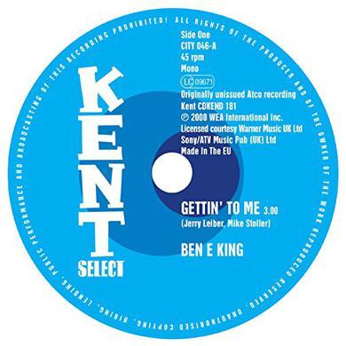 Ben E King / Marvellos GETTIN TO ME / I NEED YOU Vinyl Record