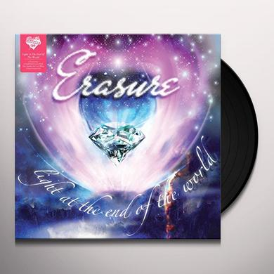 Erasure LIGHT AT THE END OF THE WORLD Vinyl Record - UK Import