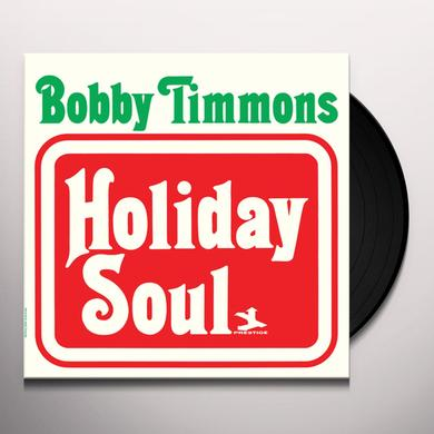 Bobby Timmons HOLIDAY SOUL Vinyl Record