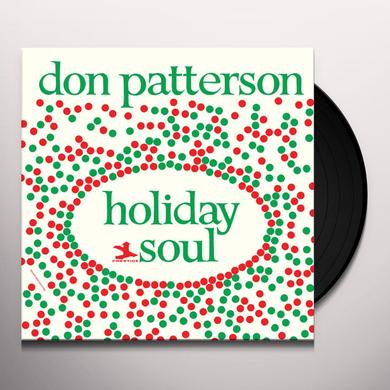 Don Patterson HOLIDAY SOUL Vinyl Record