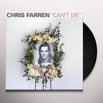 Chris Farren CAN'T DIE Vinyl Record