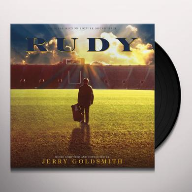 Jerry Goldsmith RUDY Vinyl Record - 180 Gram Pressing