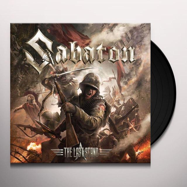 Sabaton LAST STAND (BONUS TRACKS) Vinyl Record - Gatefold Sleeve