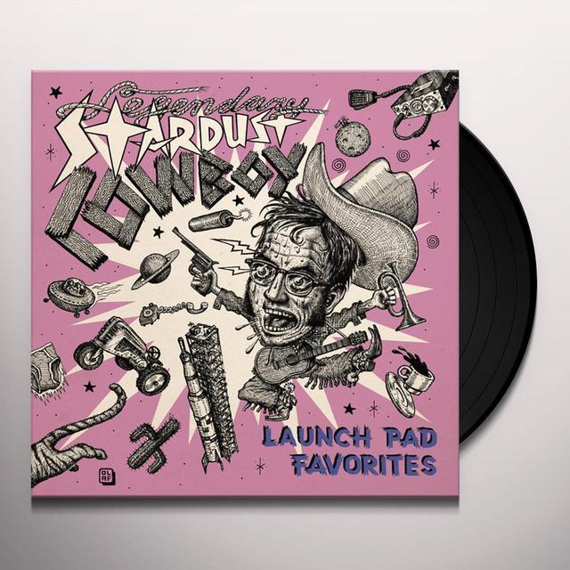 Legendary Stardust Cowboy LAUNCH PAD FAVORITES Vinyl Record