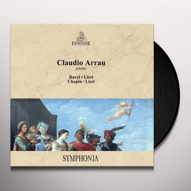 Claudio Arrau RAVEL LISZT CHOPIN / LISZT Vinyl Record