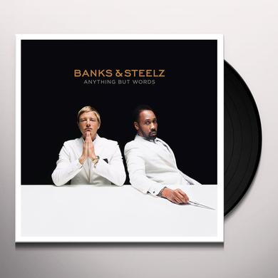 BANKS & STEELZ ANYTHING BUT WORDS Vinyl Record