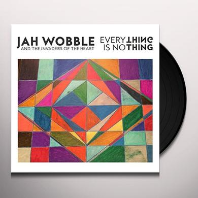 Jah Wobble EVERYTHING IS NOTHING Vinyl Record