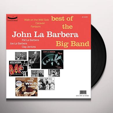 BEST OF THE JOHN LA BARBERA BIG BAND Vinyl Record