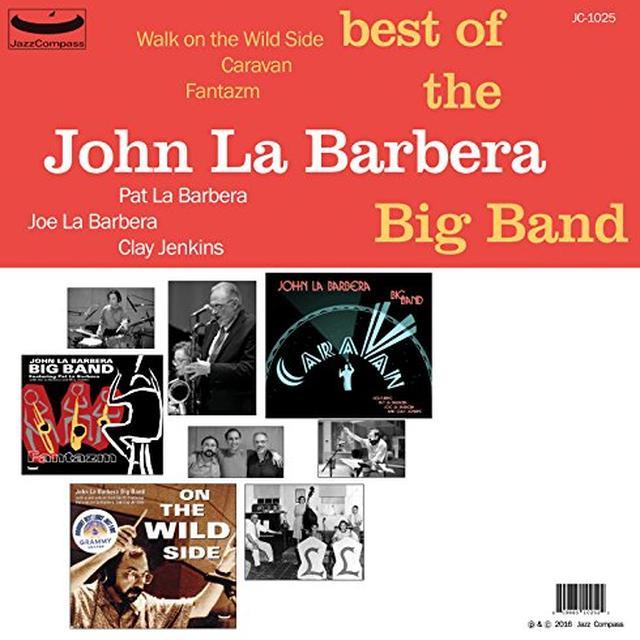 BEST OF THE JOHN LA BARBERA BIG BAND Vinyl Record - Limited Edition