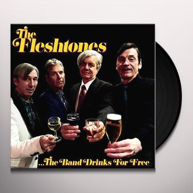 The Fleshtones BAND DRINKS FOR FREE Vinyl Record - Digital Download Included