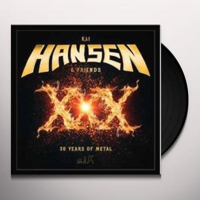 Kai Hansen XXX-THREE DECADES IN METAL Vinyl Record