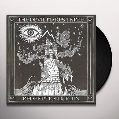 Devil Makes Three REDEMPTION & RUIN Vinyl Record