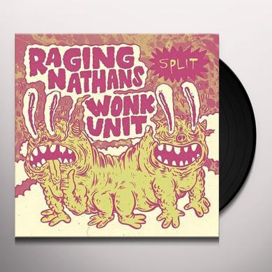RAGING NATHANS / WONK UNIT Vinyl Record