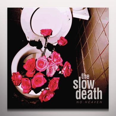 SLOW DEATH NO HEAVEN Vinyl Record - Red Vinyl