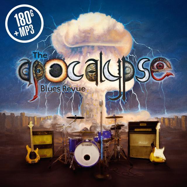 APOCALYPSE BLUES REVUE Vinyl Record - 180 Gram Pressing, Digital Download Included