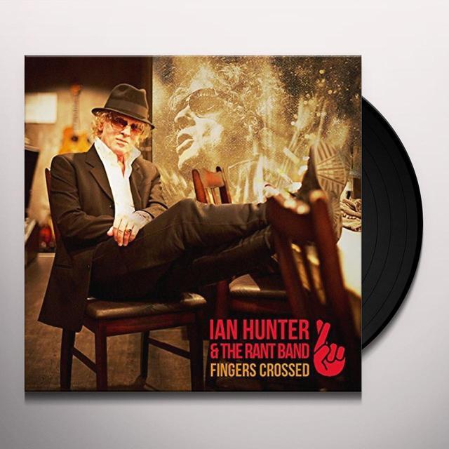 Ian Hunter FINGERS CROSSED Vinyl Record - 180 Gram Pressing, Digital Download Included