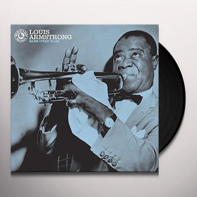 Louis Armstrong BASIN STREET BLUES Vinyl Record - 180 Gram Pressing