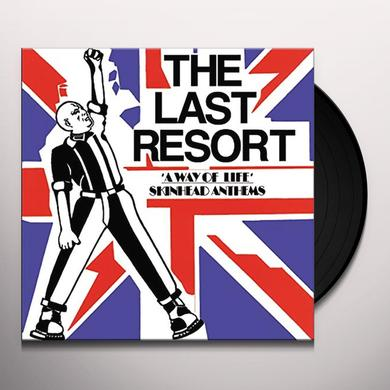 Last Resort WAY OF LIFE - SKINHEAD ANTHEMS Vinyl Record