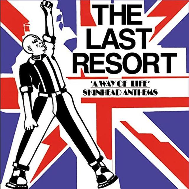 Last Resort WAY OF LIFE - SKINHEAD ANTHEMS Vinyl Record