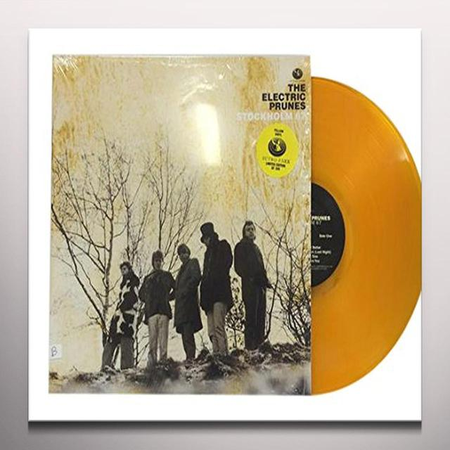 The Electric Prunes STOCKHOLM 67 Vinyl Record - Colored Vinyl, Limited Edition, Yellow Vinyl