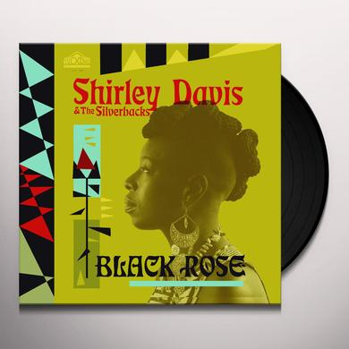 Shirley Davis / Silverbacks BLACK ROSE Vinyl Record