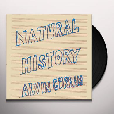 Alvin Curran NATURAL HISTORY Vinyl Record