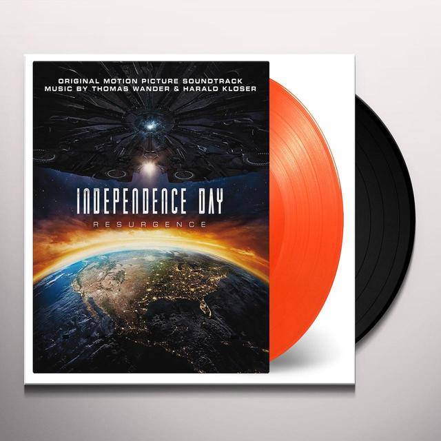 Thomas Wander / Harold Kloser INDEPENDENCE DAY: RESURGENCE / O.S.T. Vinyl Record - Limited Edition, 180 Gram Pressing