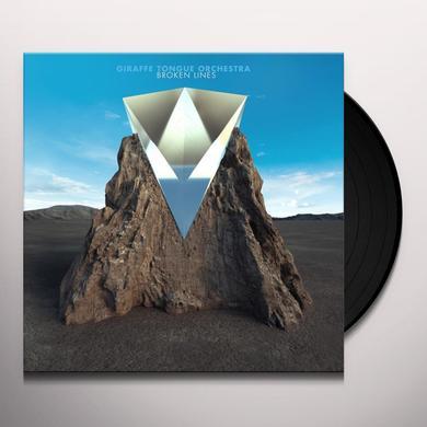 GIRAFFE TONGUE ORCHESTRA BROKEN LINES Vinyl Record - Gatefold Sleeve