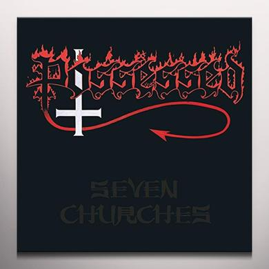 Possessed SEVEN CHURCHES: SPLATTER VINYL  (GER) Vinyl Record - Colored Vinyl