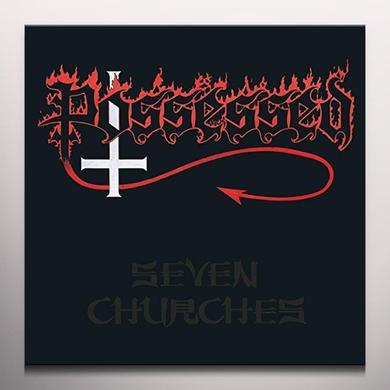 Possessed SEVEN CHURCHES: SPLATTER VINYL  (GER) Vinyl Record - Colored Vinyl