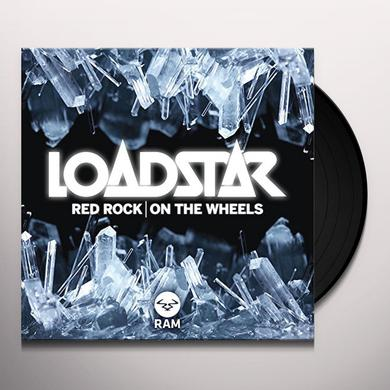 Loadstar RED ROCK / ON THE WHEELS Vinyl Record