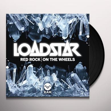 Loadstar RED ROCK / ON THE WHEELS Vinyl Record - UK Import