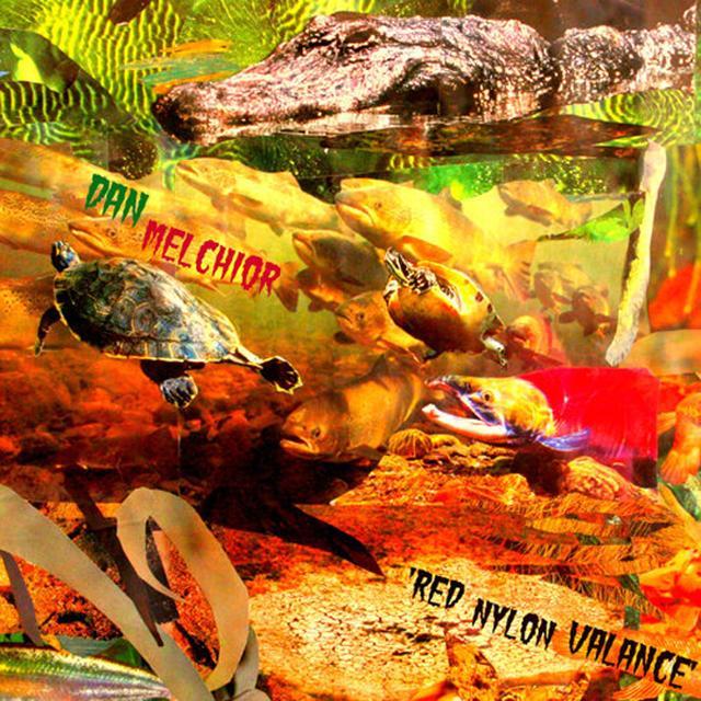 Dan Melchior RED NYLON VALANCE Vinyl Record - UK Import