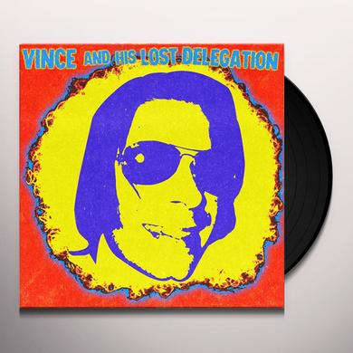 VINCE & HIS LOST DELEGATION Vinyl Record - UK Release