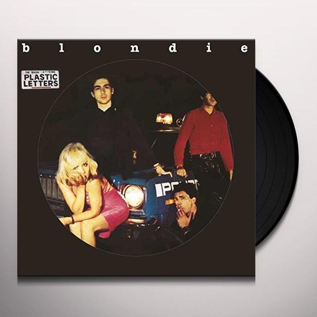 Blondie PLASTIC LETTERS Vinyl Record - Picture Disc, UK Import