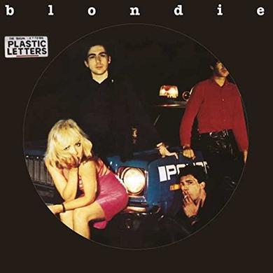 Blondie PLASTIC LETTERS Vinyl Record