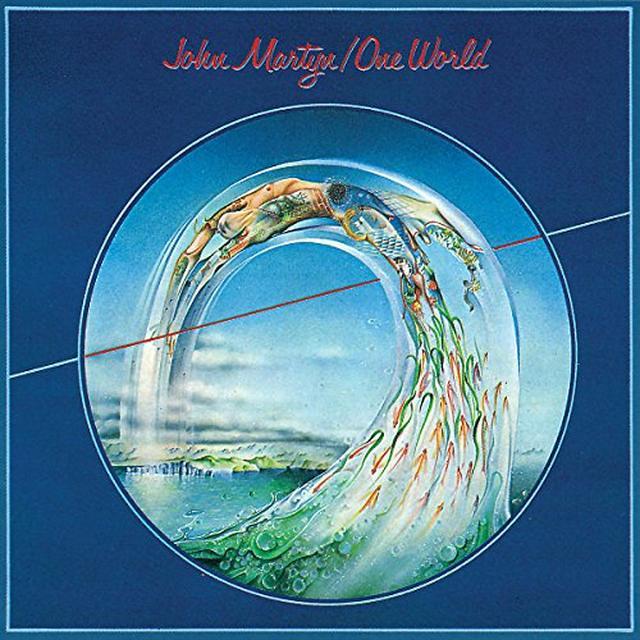 John Martyn ONE WORLD Vinyl Record - UK Import