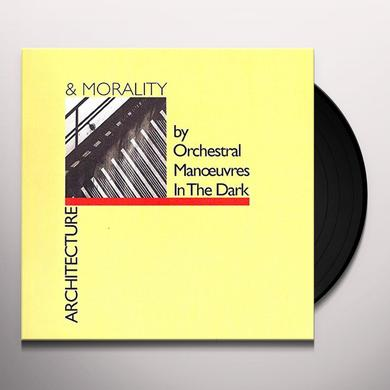 OMD ( ORCHESTRAL MANOEUVRES IN THE DARK ) ARCHITECTURE & MORALITY Vinyl Record - UK Import