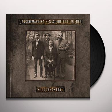 Jarkko Martikainen / Luotetut Miehet RUOSTERASTAAT Vinyl Record