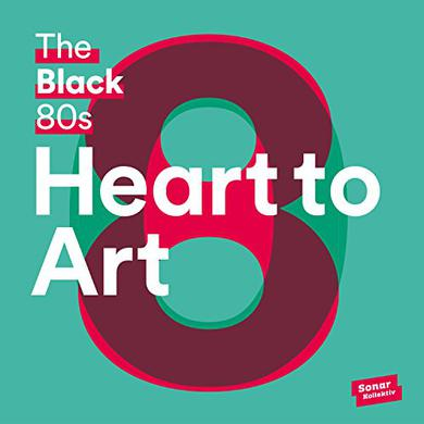 Black 80S HEART TO ART Vinyl Record