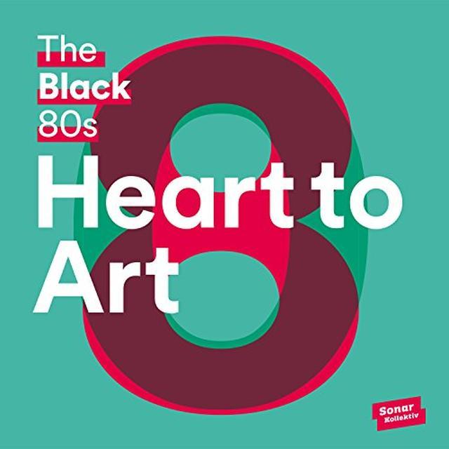 Black 80S HEART TO ART (W/BOOK) Vinyl Record - 180 Gram Pressing, UK Import