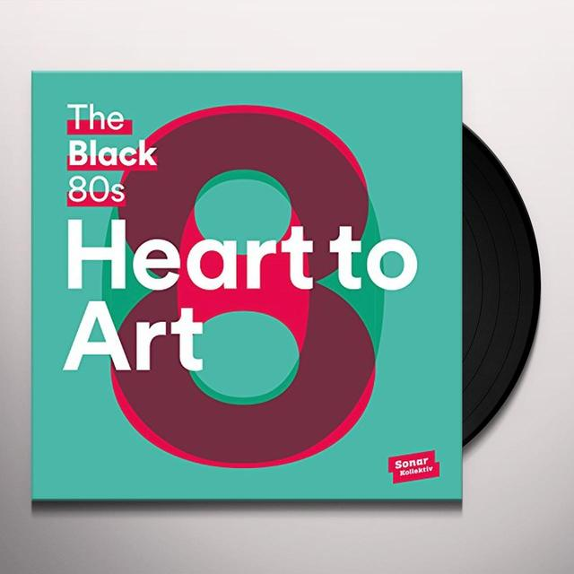 Black 80S HEART TO ART (W/BOOK) Vinyl Record - 180 Gram Pressing, UK Import