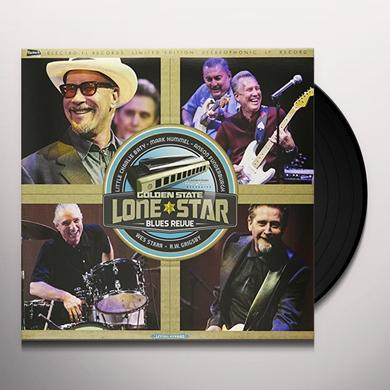 GOLDEN STATE LONE STAR BLUES REVUE Vinyl Record - Limited Edition, Canada Release