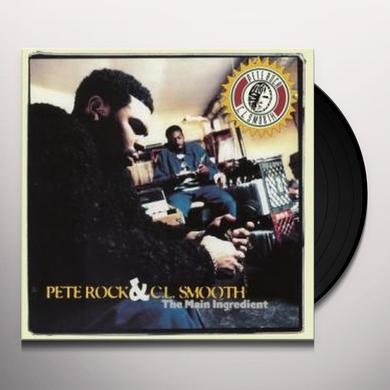 Pete Rock & C.L. Smooth MAIN INGREDIENT Vinyl Record - Holland Import