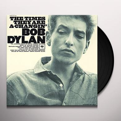 Bob Dylan TIMES THEY ARE A CHANGIN Vinyl Record