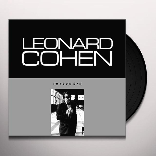 Leonard Cohen I'M YOUR MAN Vinyl Record - Holland Import